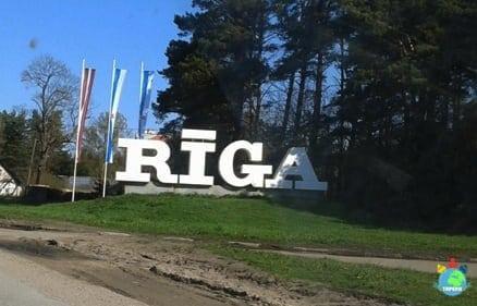 Wjeżdżamy do Rygi