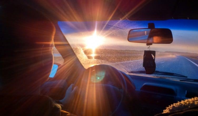 W stronę słońca....