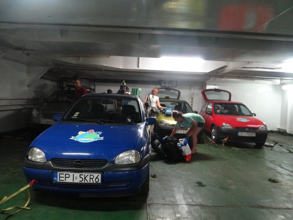 transport samochodu promem